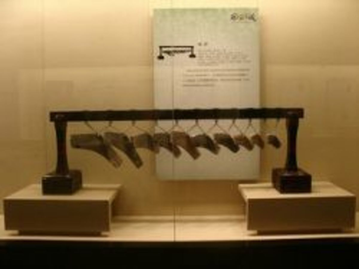 Stone Chimes ~ Warring States Period