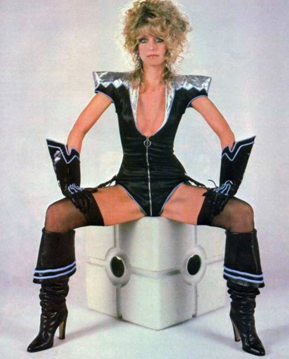 Hot Farrah Fawcett in hot boots