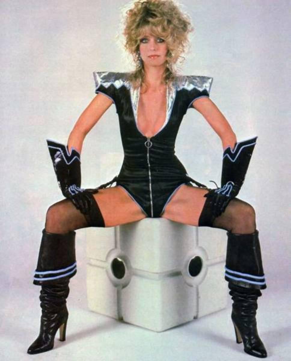 Hot Farrah Fawcett in hot boots