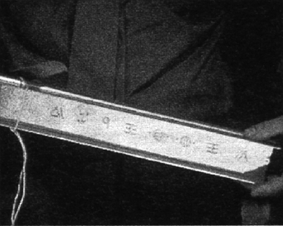 Glyphs found at Roswell site.