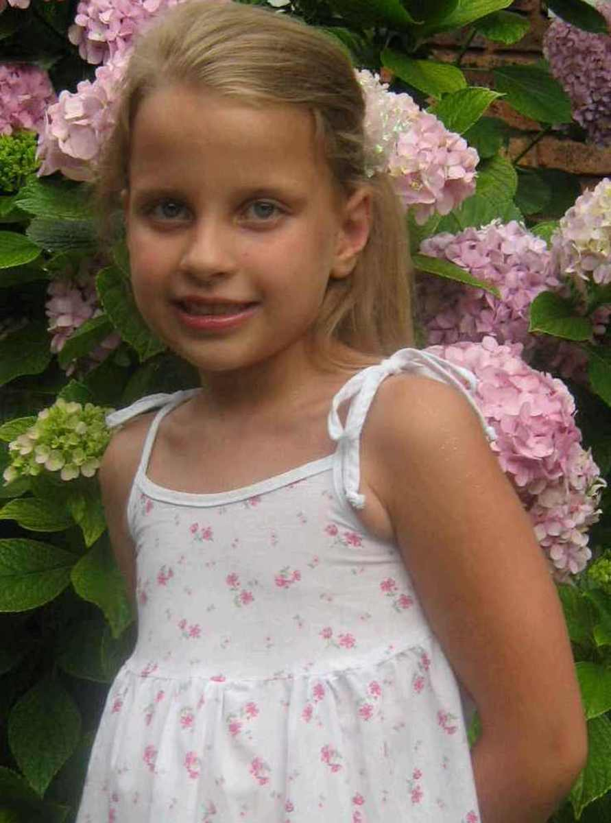 Caitlin at seven