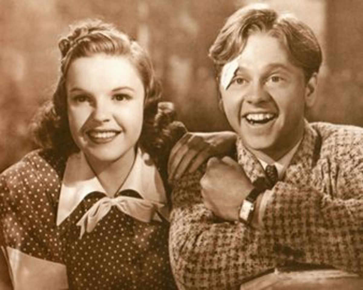 With Judy Garland in Babes in Arms