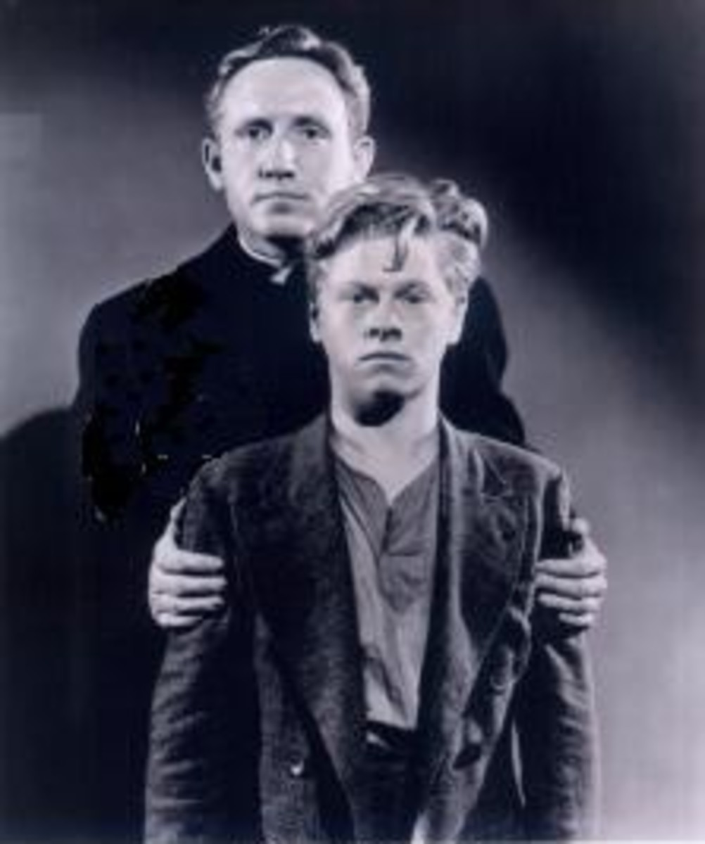 With Spencer Tracy in Boys Town