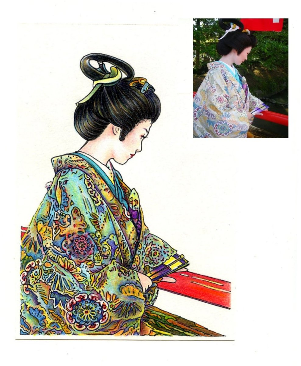 Yukari's Portrait