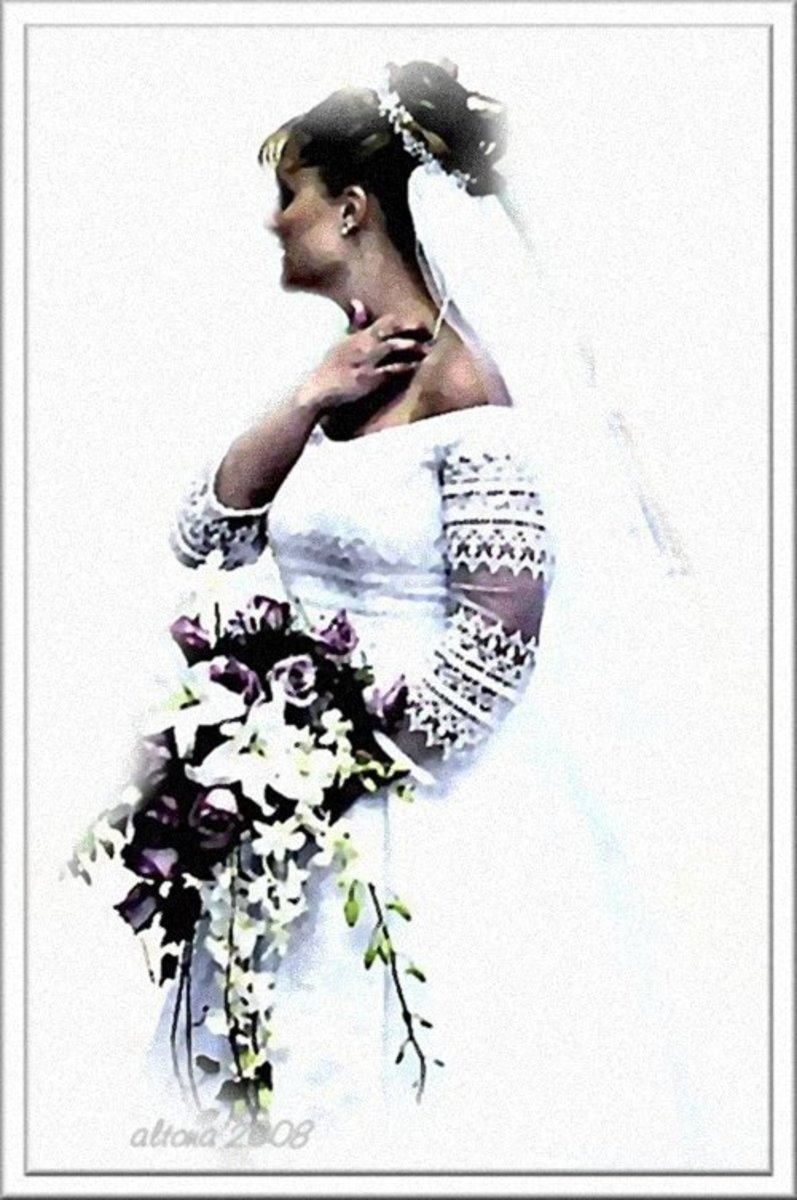 Mikayla's Mother - Wedding Portrait