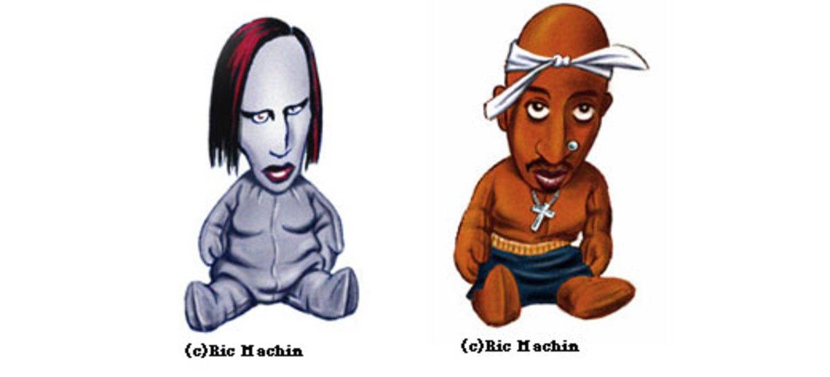 Marilyn Manson, Tupac