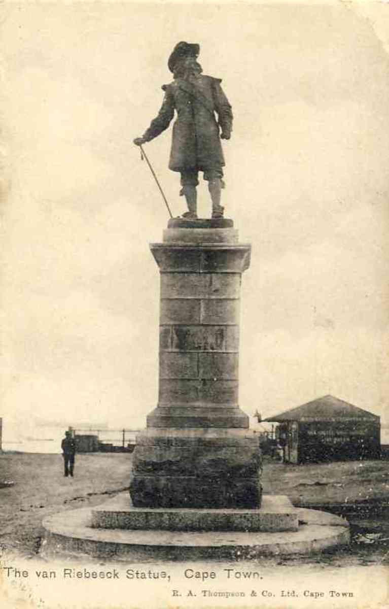 Jan van Riebeeck grave