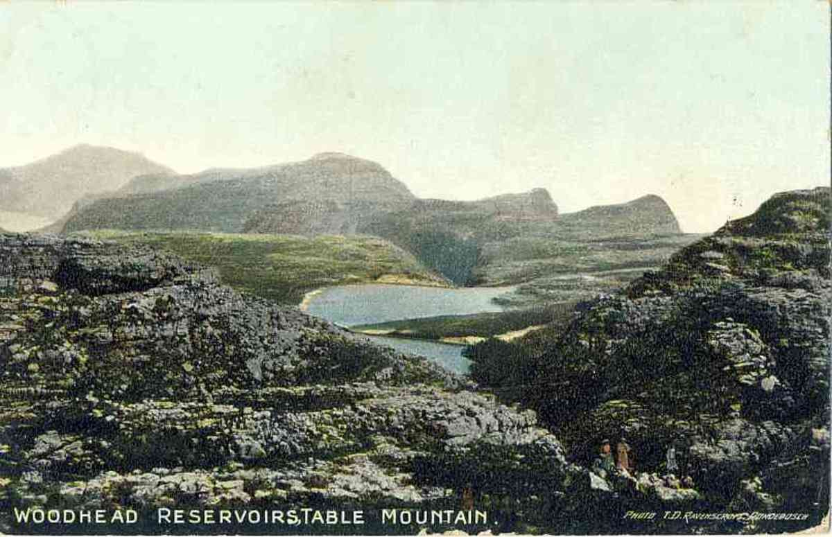 Woodhead Reservoirs on Table Mountain