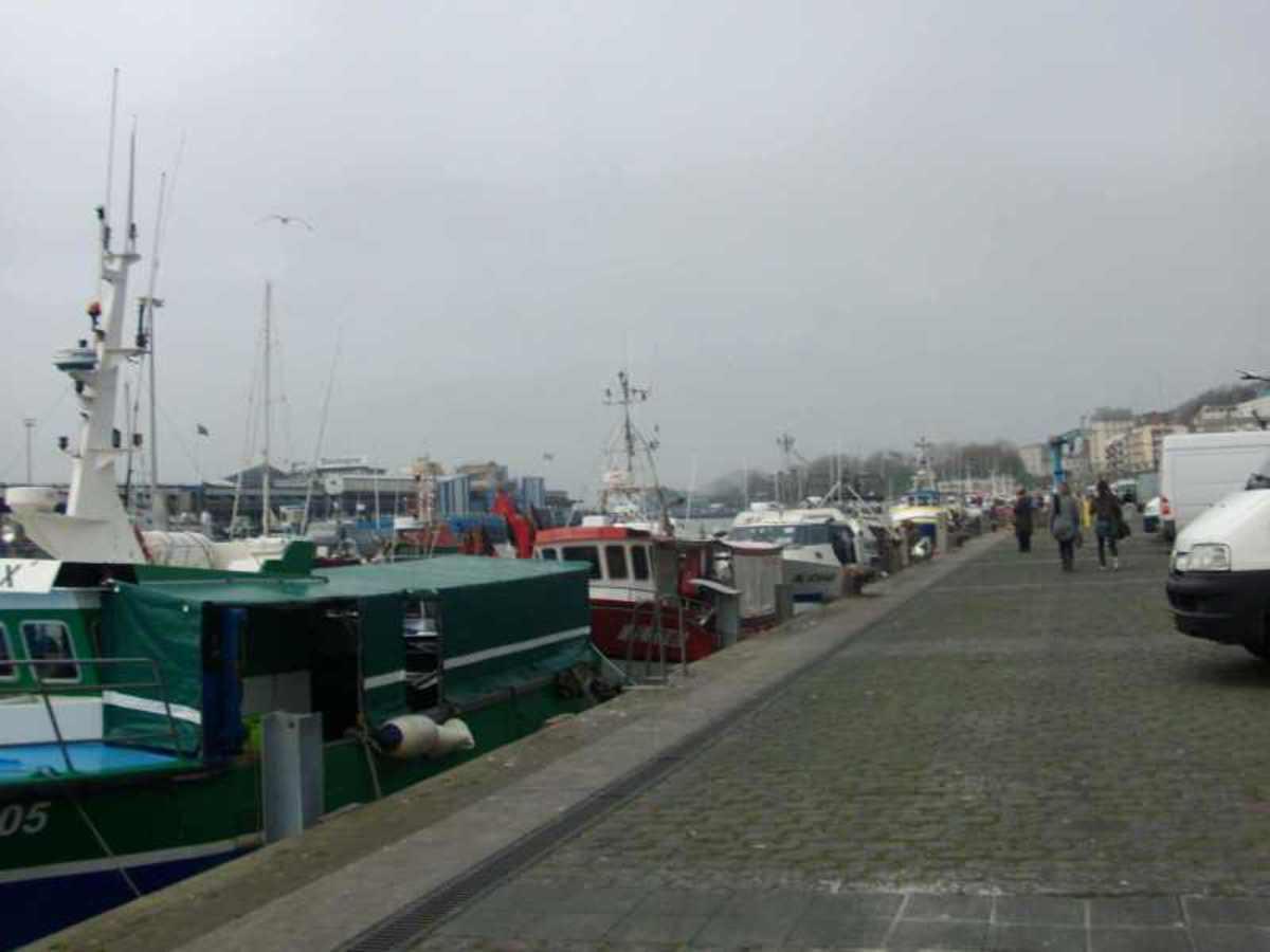 Boulogne Sur Mer - The Quayside