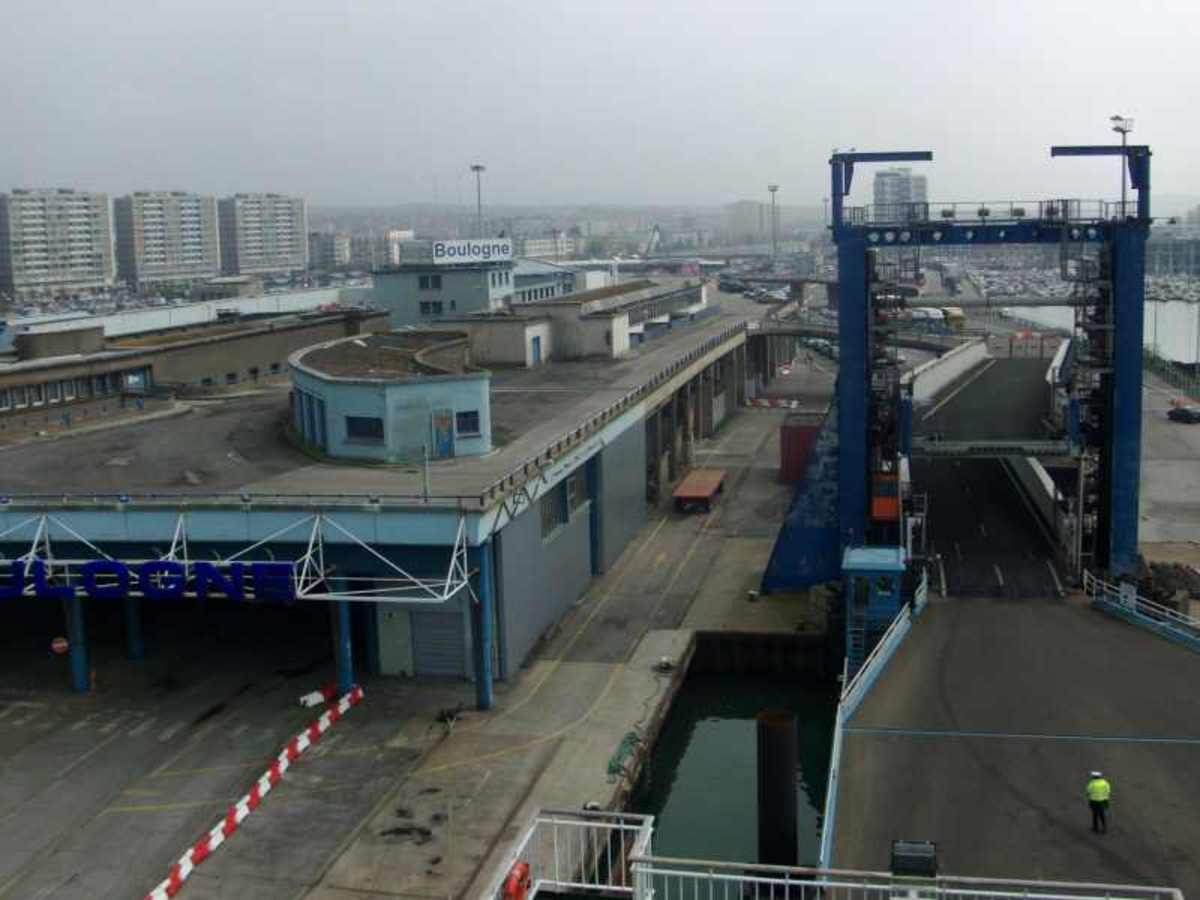 Not The Prettiest Ferry Terminal