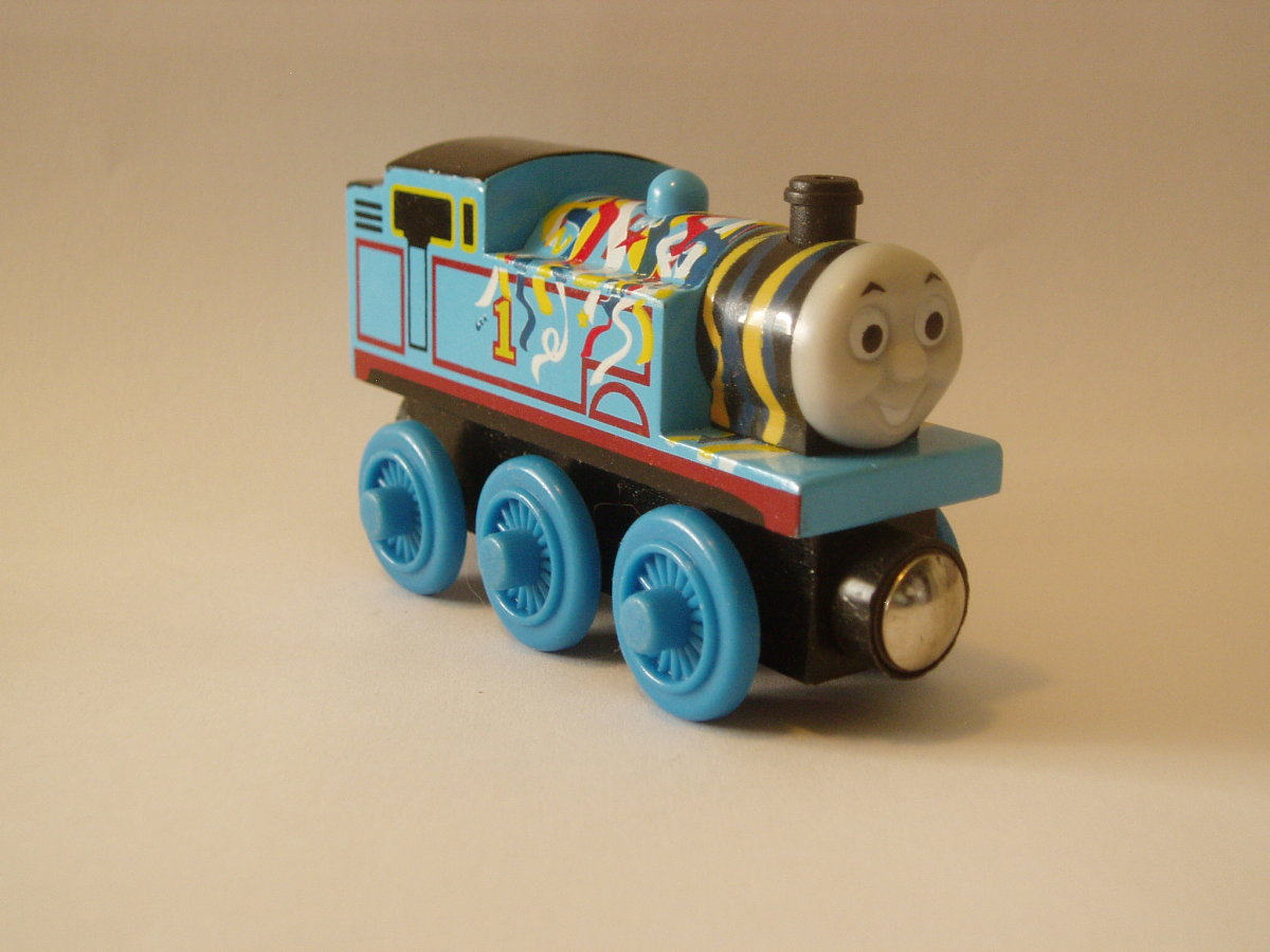 Wooden Happy Birthday Thomas