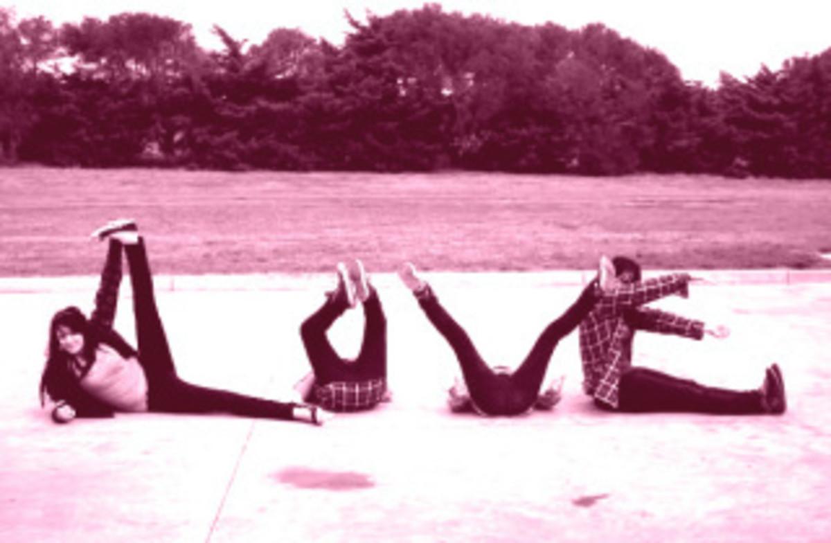 Spell LOVE!