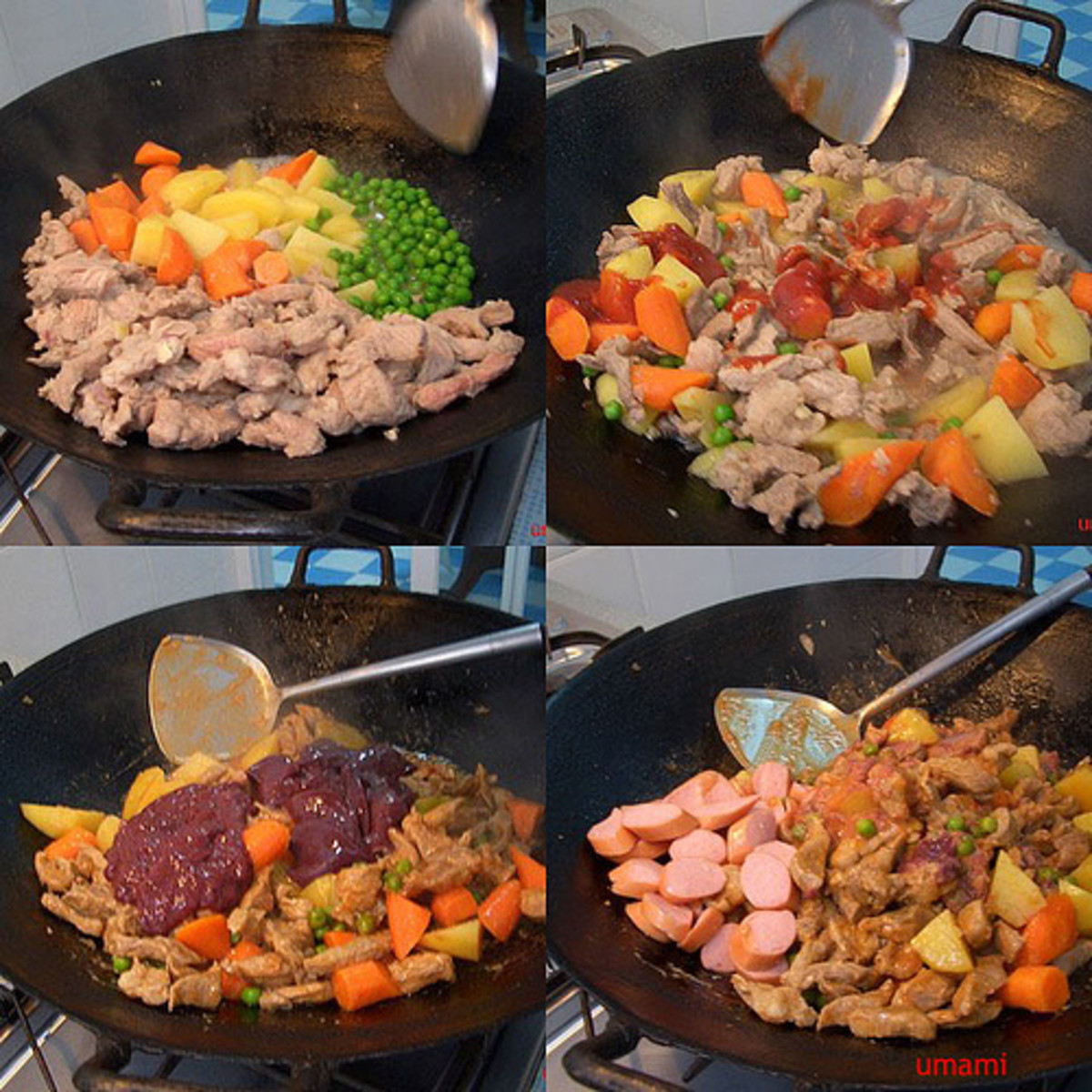 'Menudo' - Pork Meat and Pork Liver with Vegetables (Photo courtesy by umami from Flickr)