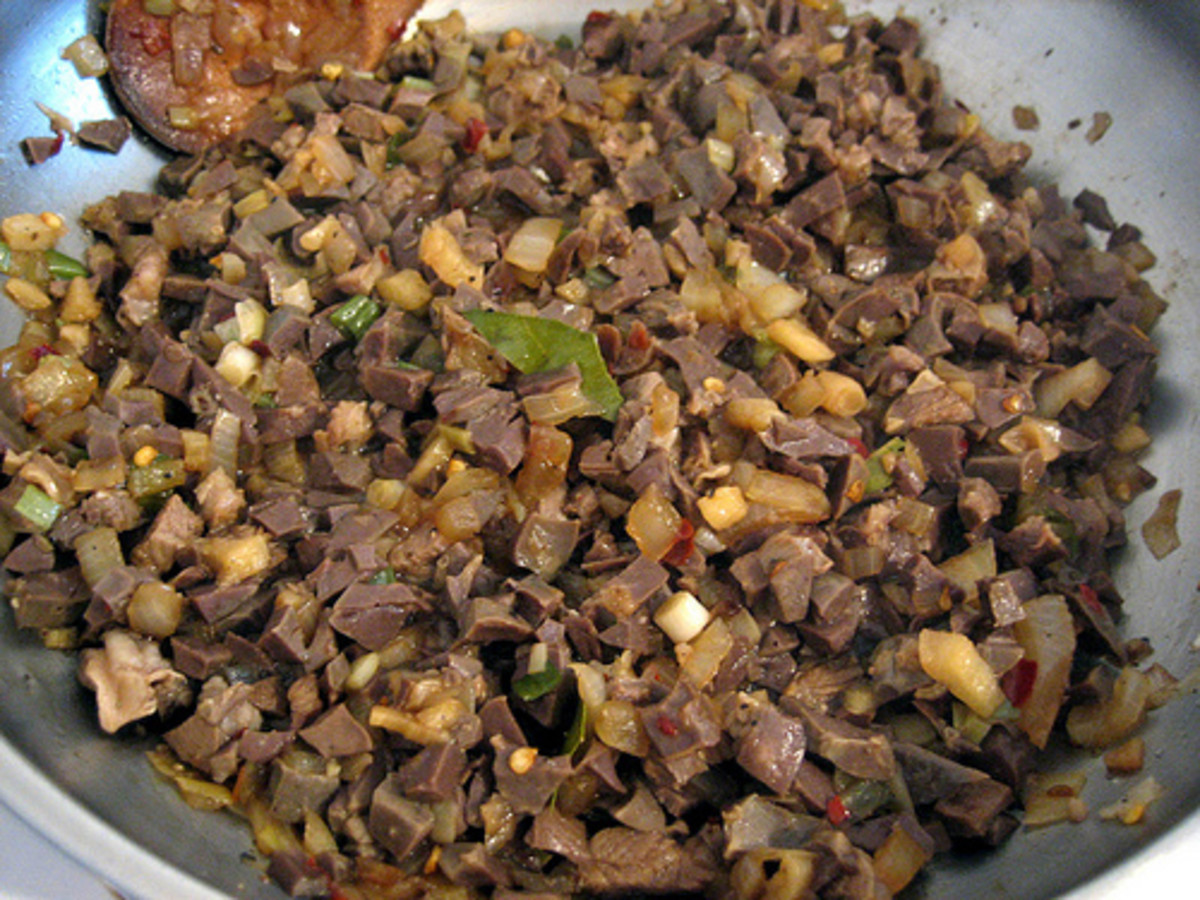 'Bopiz' with Lamb Liver and Laurel Leaf (Photo courtesy by the lemongrass from Flickr)