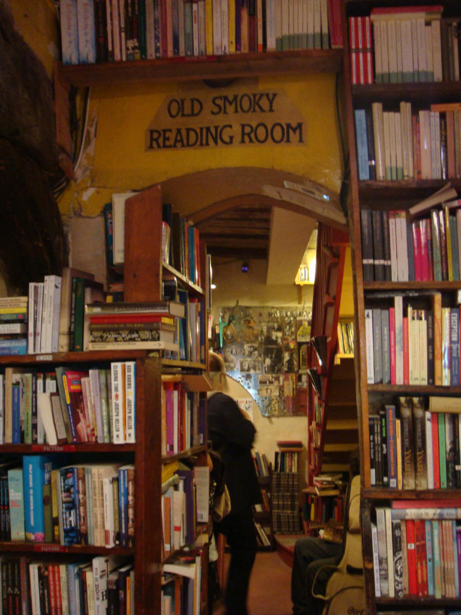 Shakespeare & Company, not in the list by The Guardian, but adorable just the same.