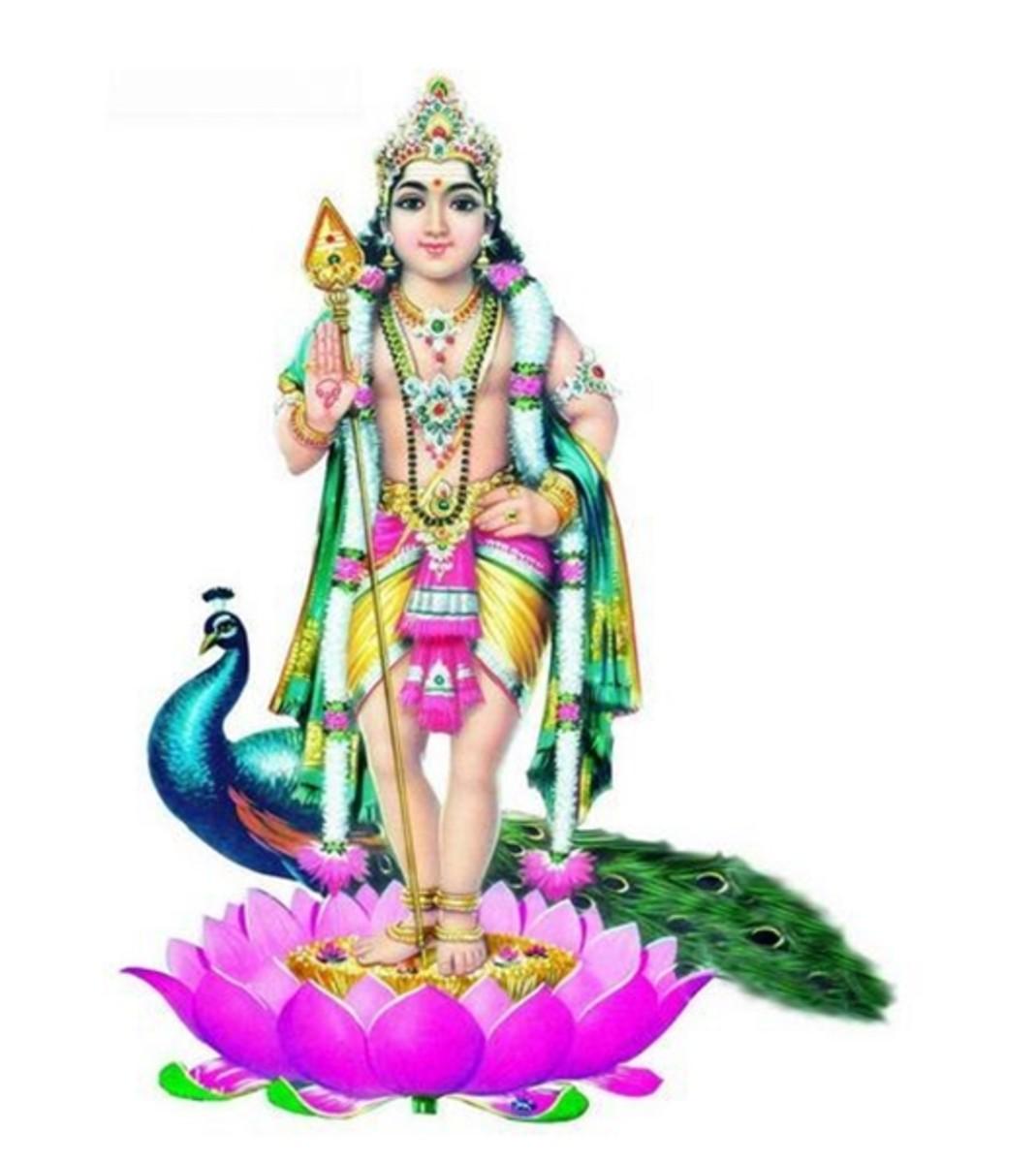 Señor Kartikeya (Muruga) Mantras