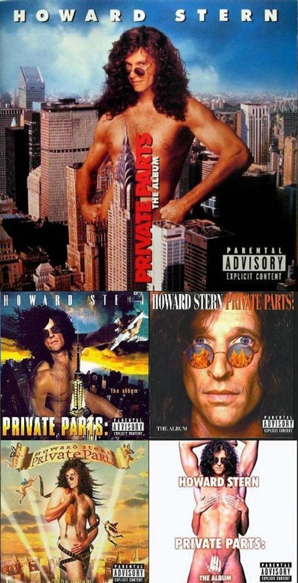 howard stern private parts