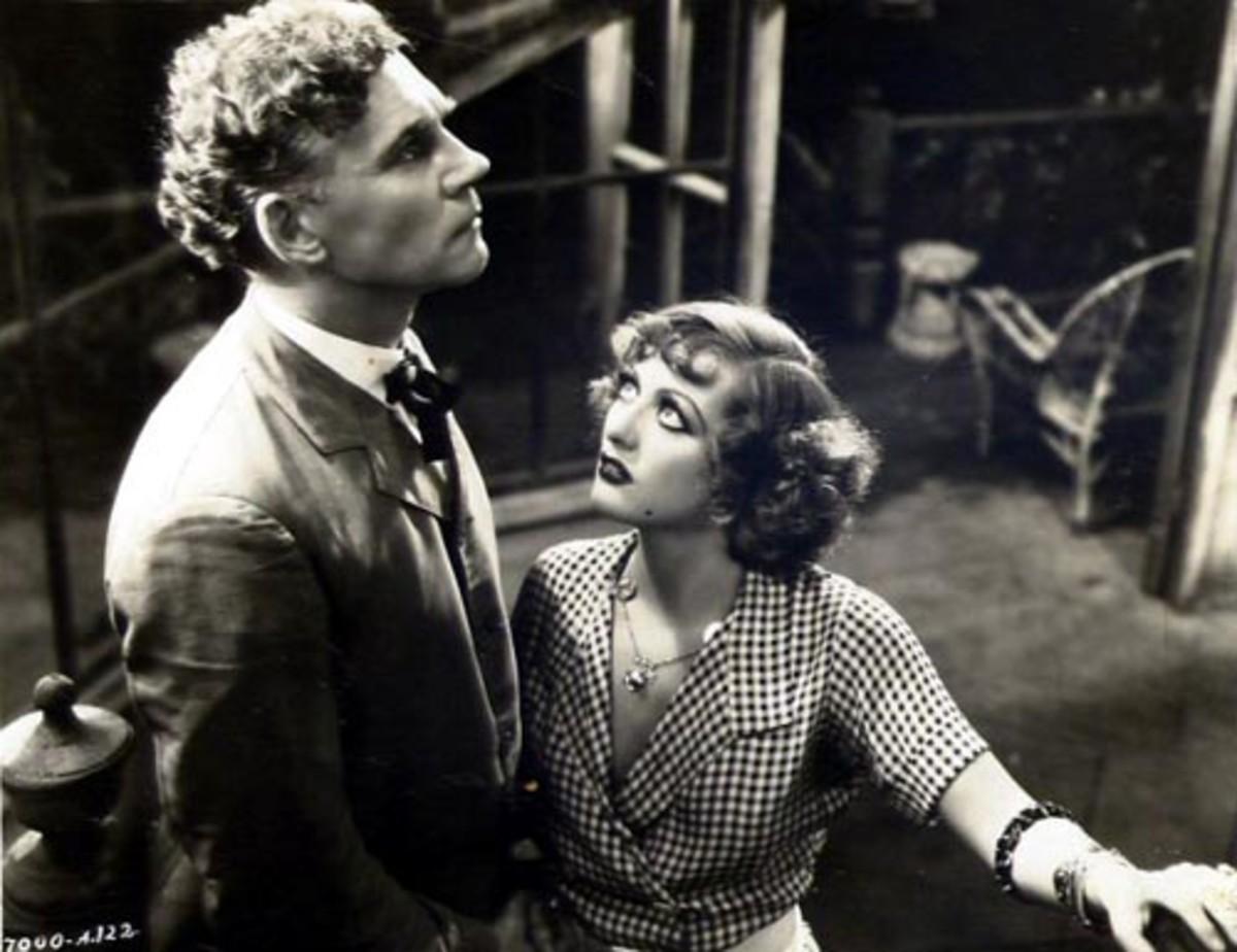 Rain in1932 with Walter Huston