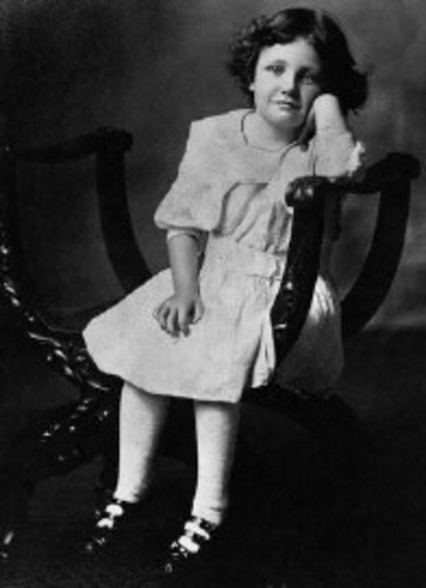 Joan aged 5