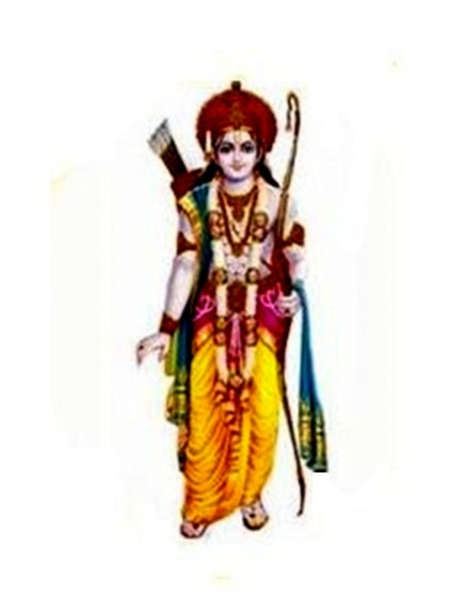 Mantras of Sri Rama - Incarnation of Lord Vishnu