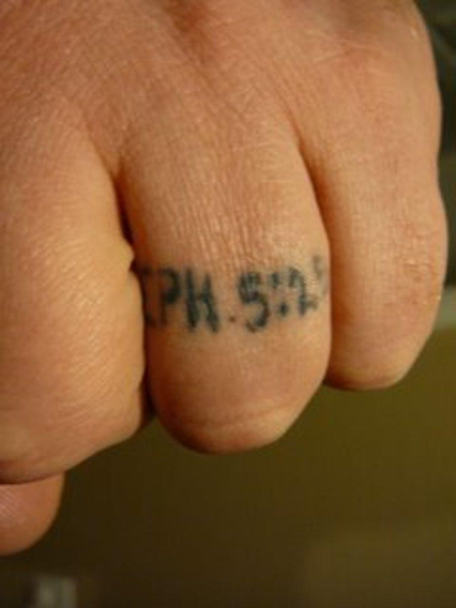 Religious Bible Verse Wedding Ring Tattoo [http://castironskillet-timb.blogspot.com/2007/12/my-tattoo.html]