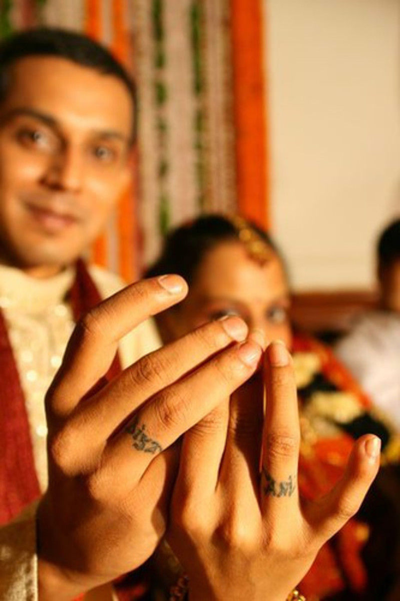 Indian Wedding Ring Tattoo [http://www.flickr.com/photos/lakshmananand/527215022/]