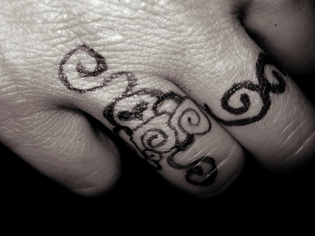 Wedding ring tattoos best modern celtic religious for Wedding ring finger tattoos