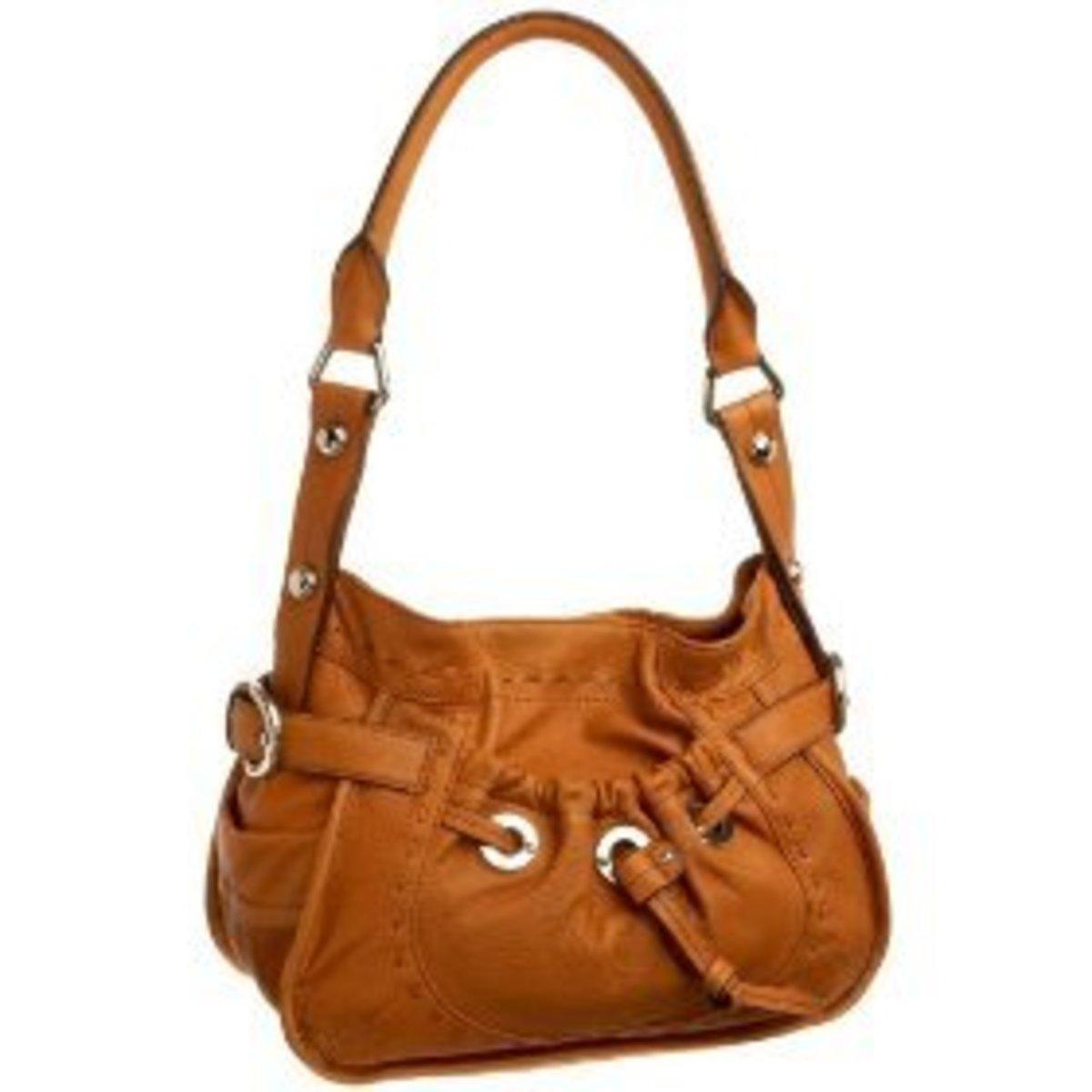 B Makowsky Lisbon Shoulder Bag