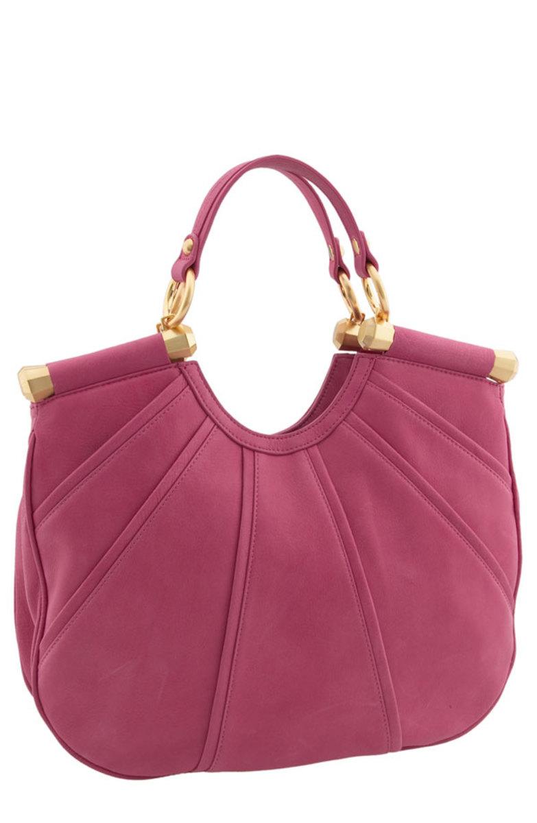 B Makowsky Soft Piped Shopper Handbag