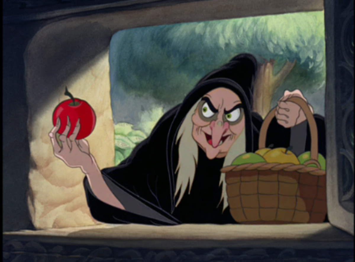 Oh, Those Naughty Ladies - My Favorite Female Disney Cartoon Villains