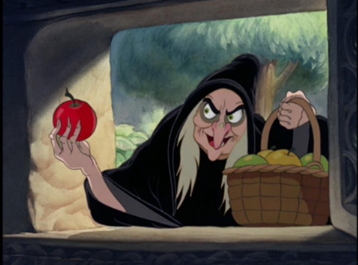 Oh, Those Naughty Ladies - My Favorite Female Disney Cartoon Villains