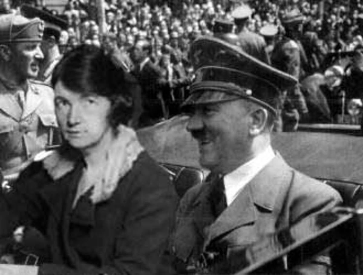 MARGARET SANGER WITH ADOLPH HITLER