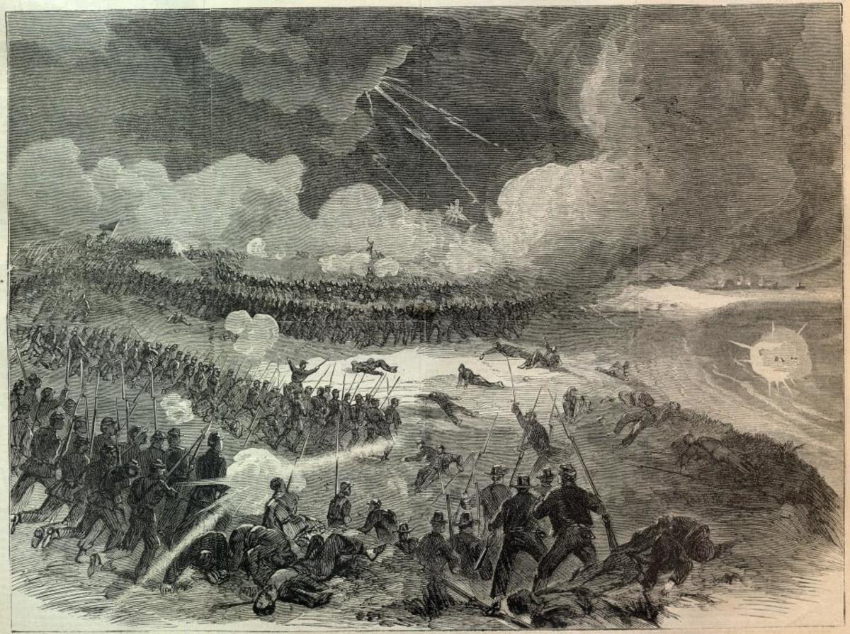 Battle Of Fort Wagner