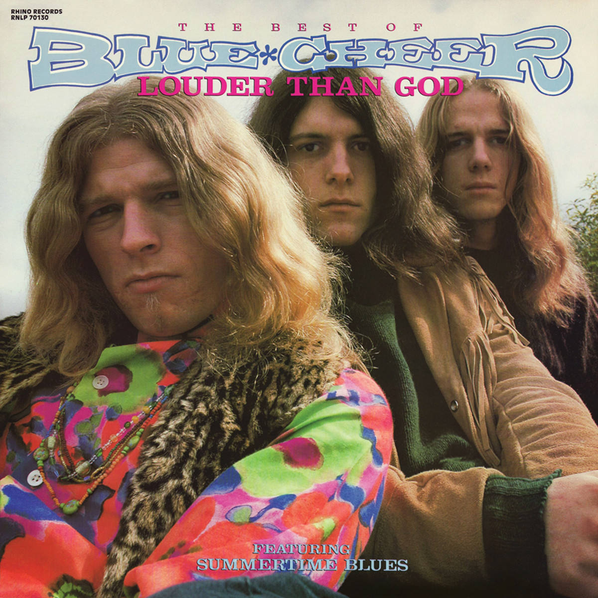 Leigh Stephens (center) with Blue Cheer