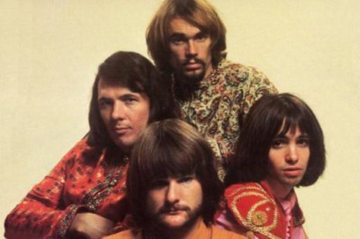 Erik Braunn (right) with Iron Butterfly