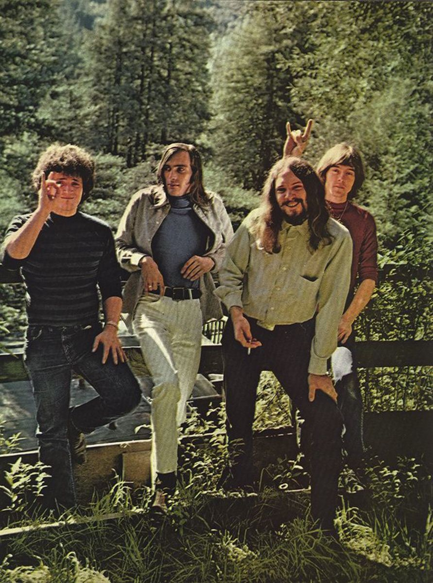 John Cippolina (second from left) with the Quicksilver Messenger Service