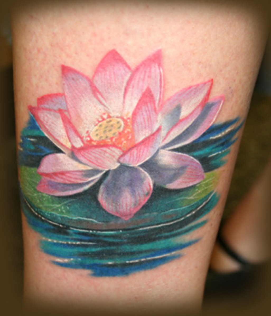 Lotus Flower Tattoos, Tribal Tattoo,Cherry Blossom Tattoos, Guardian Angel