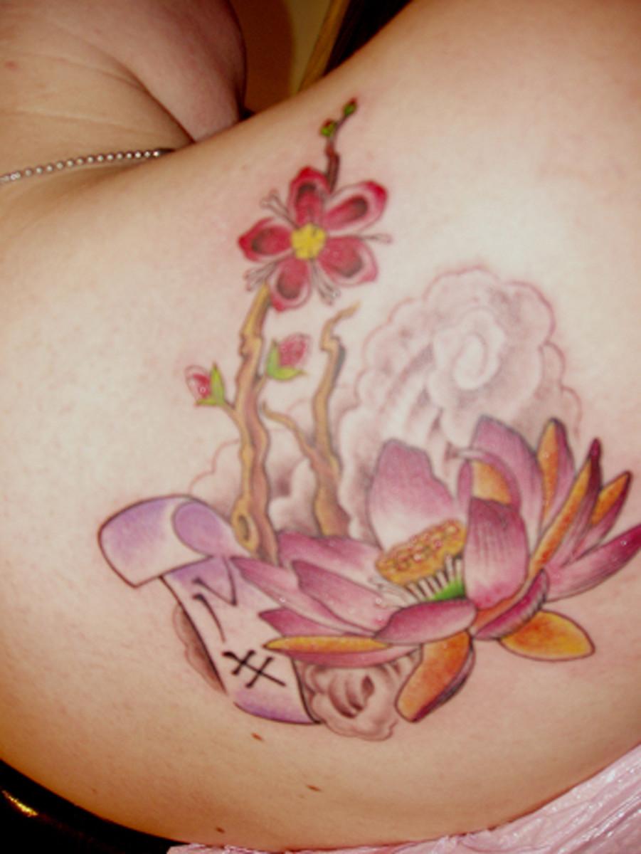 Versatility of Flower Tattoos