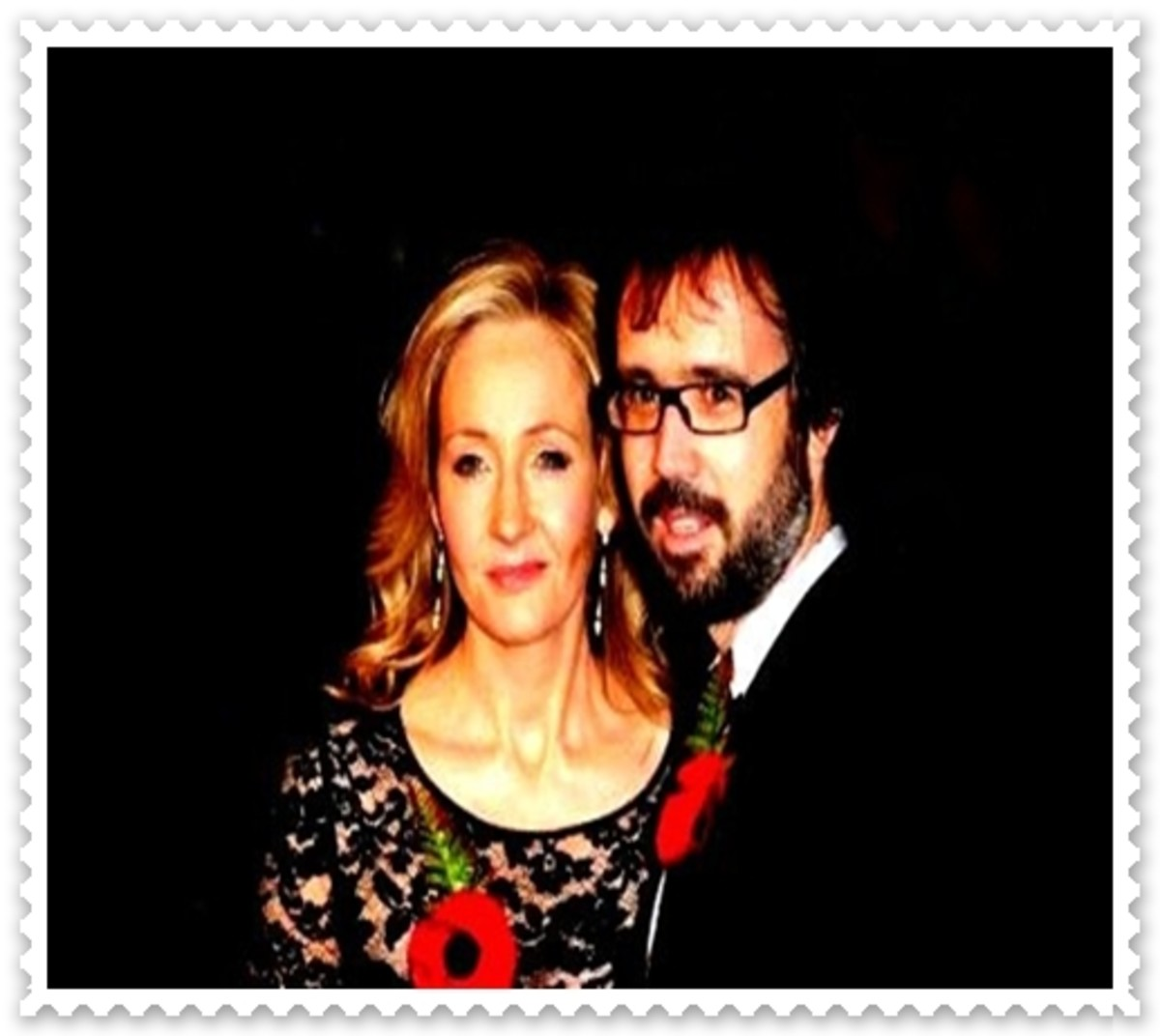 J.K. Rowling and Neil Murray