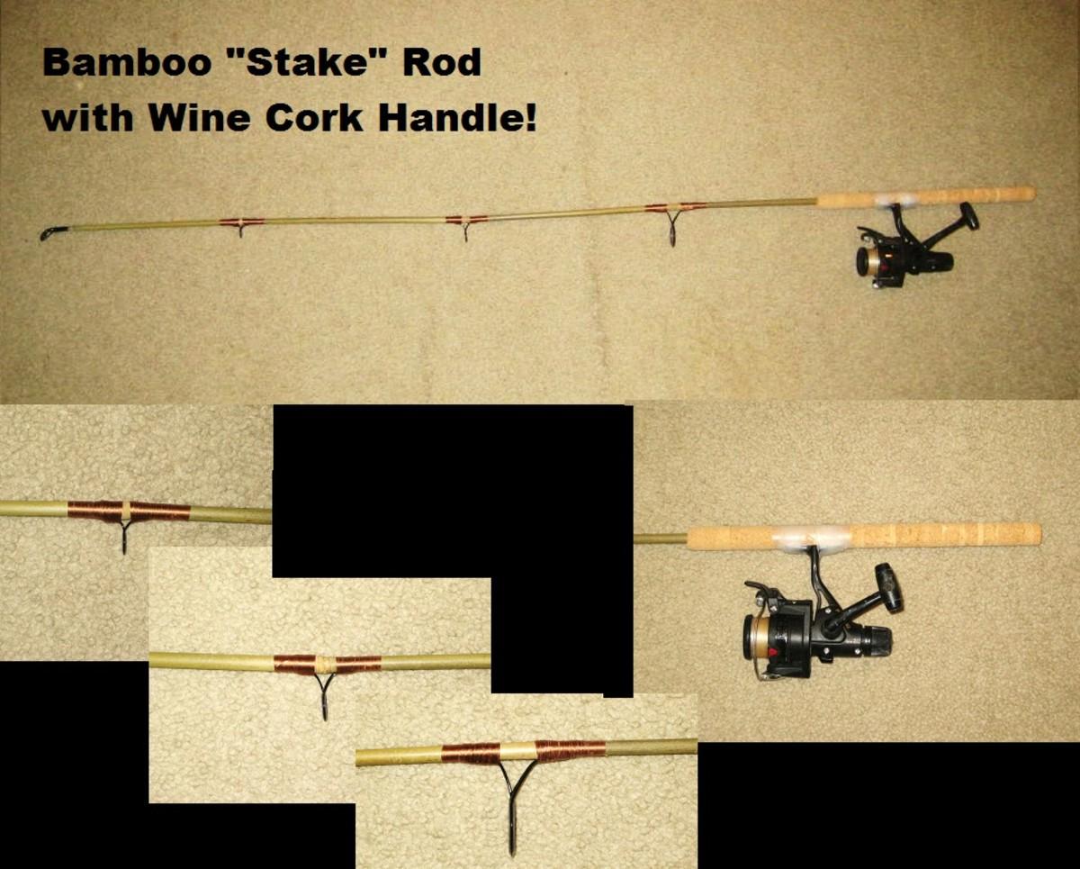 "Bamboo ""Stake"" Rod"