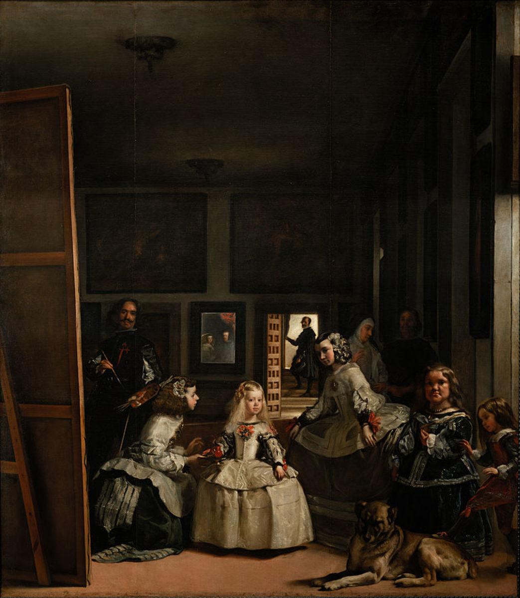 Las Meninas, 1656-57, by Velazquez (Prado Museum)