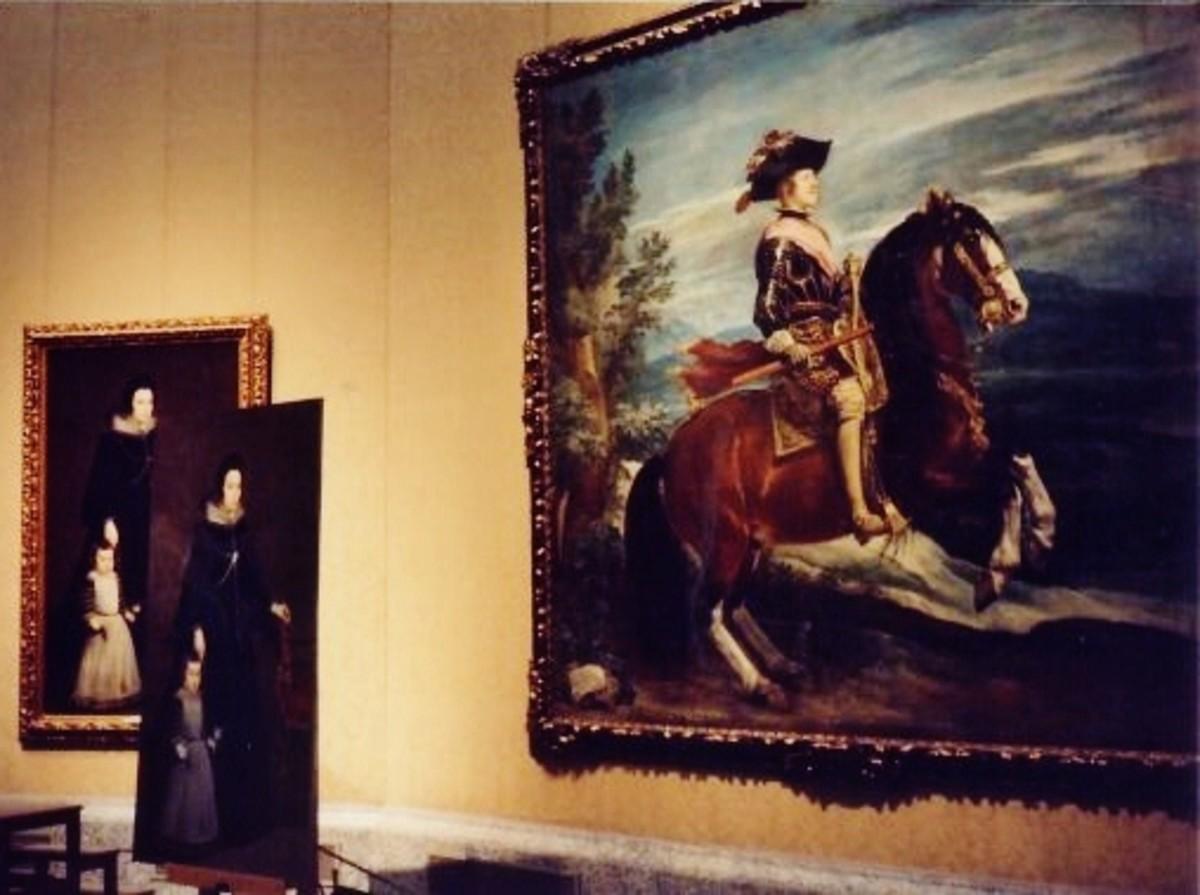 Philip IV on horseback, 1634-35