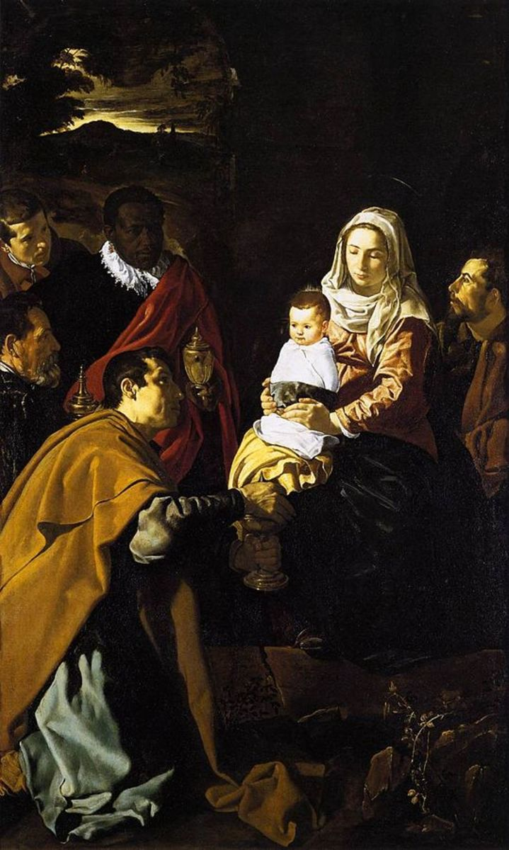 The Epiphany or The Adoration of the Magi - 1619 by Velazquez in the Prado Museum