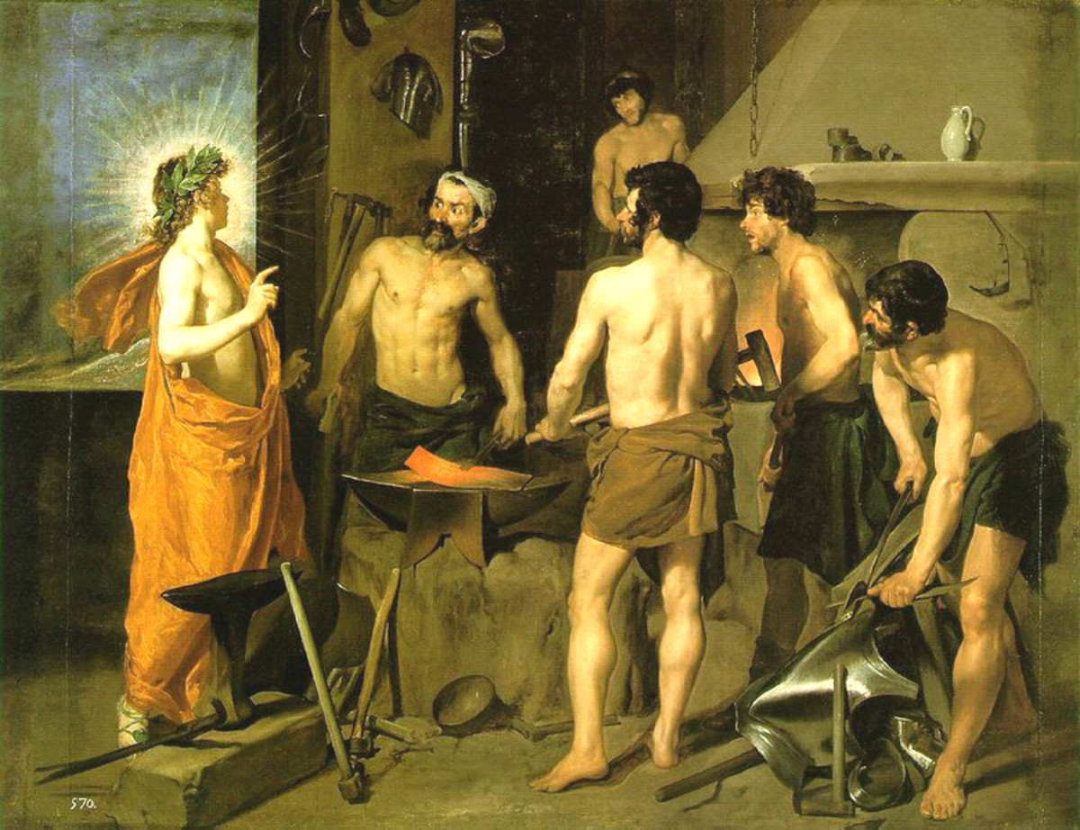 Apollo in The Forge of Vulcan by Velazquez