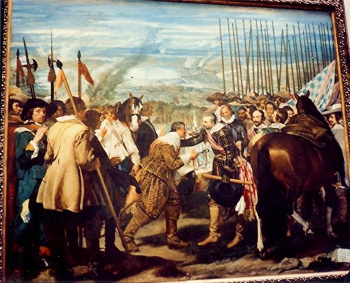 The Surrender of Breda by Velazquez, 1634-35