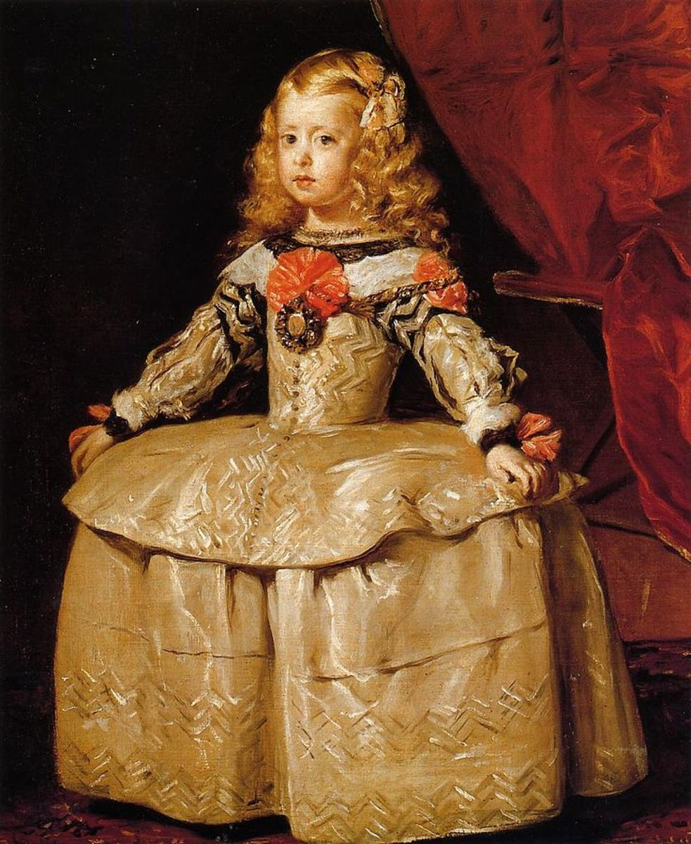 The Infanta Margarita by Velazquez, 1660