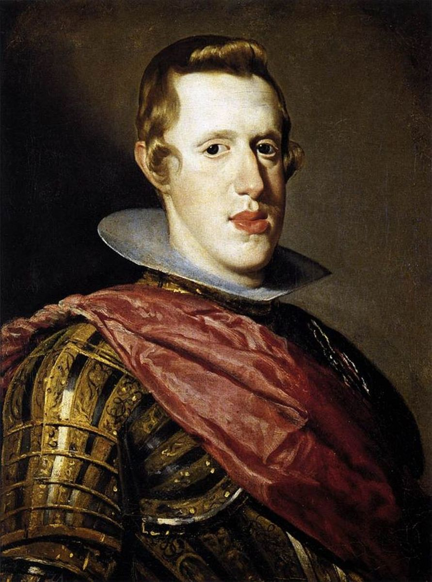 Portrait of Philip IV in Armour by Velazquez