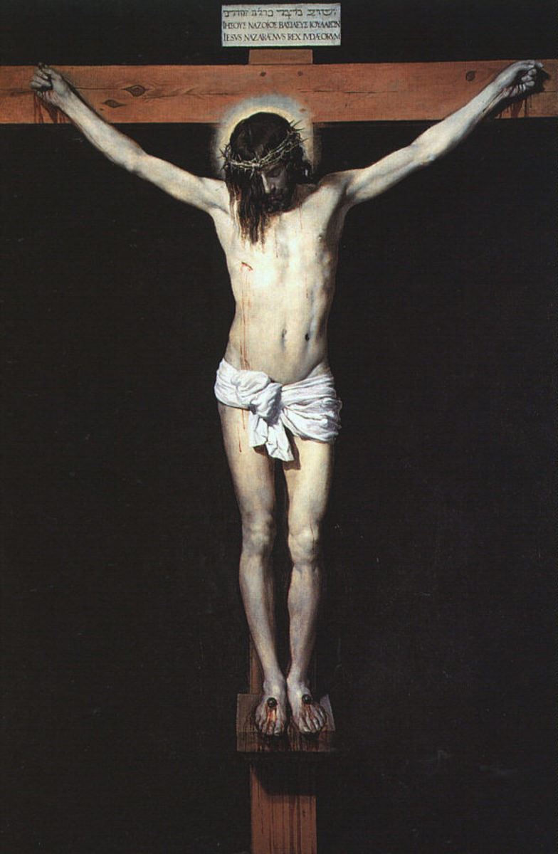 Christ Crucified - 1632 - by Velazquez