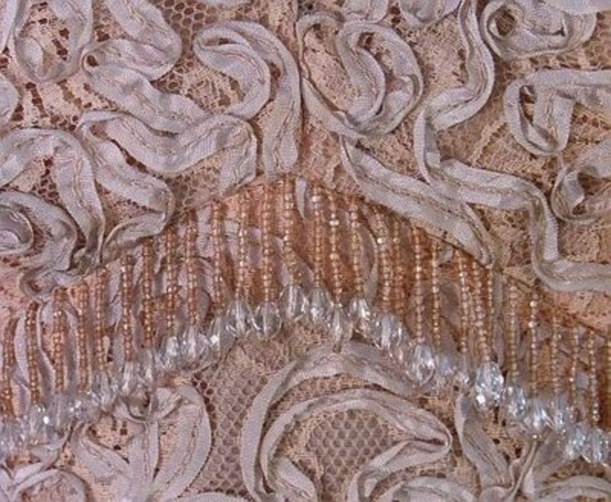 Classic Display of Ribbon Lace