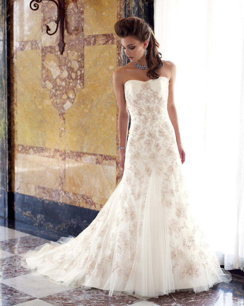 All Lace Wedding Dress: Different Types Of Bridal Lace Used For Wedding Dresses